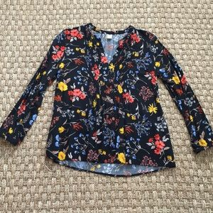 Tops - {5 for $30} Old Navy floral blouse size M
